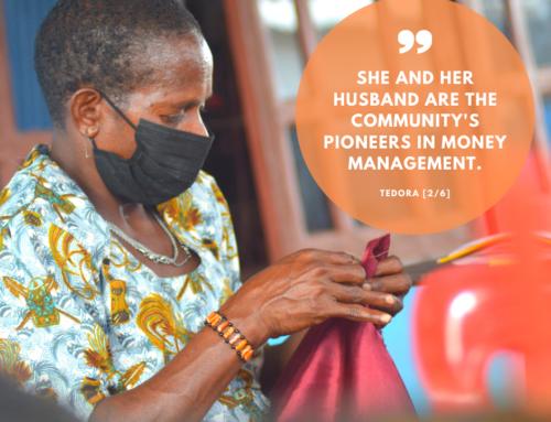 Sewing class for Asmat-mothers: meet Tedora