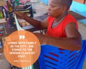 Mama Yosefa - sewing class | Hapin