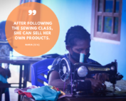 Maria - sewing class | Hapin