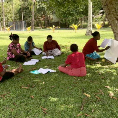 Literacy course Papua