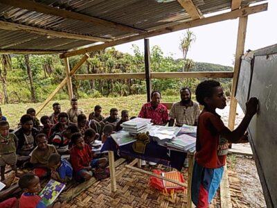 School in Ibelak Papua