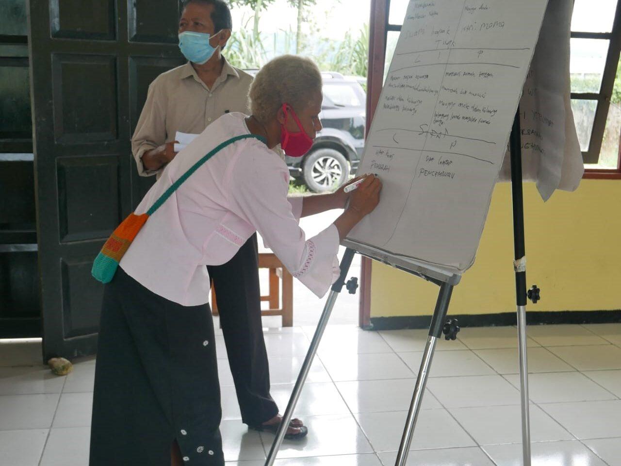 Meeting about gender-based violence by Pujaprema
