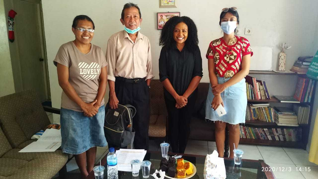 Hapin-consultants Irma and Nova meet with Pujaprema