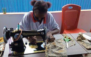 Sewing class Asmat-women | Hapin