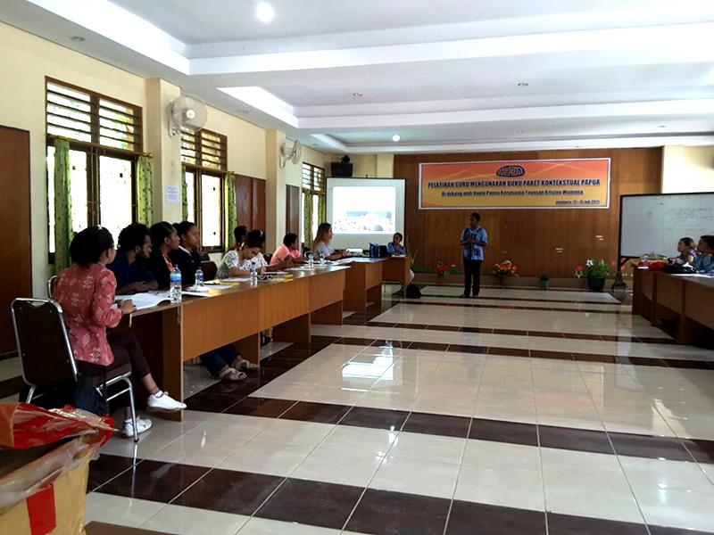 Impression follow up course teachers papua