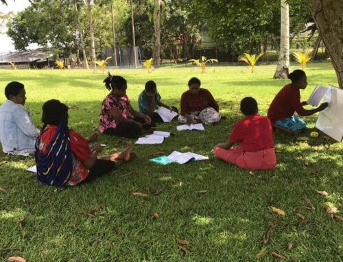 Literacy course for and by women