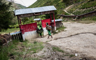 to school in Papua Indonesia