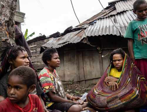 Twenty thousand Papuans on the run in their own country – Hapin and Rajori join forces