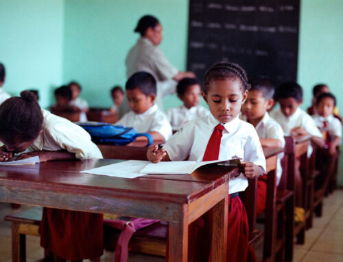 The poor reality of education in Papua