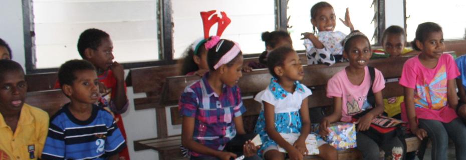 Spelend leren project papua-banner