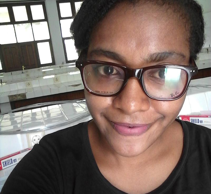 Student Alfrida Papua