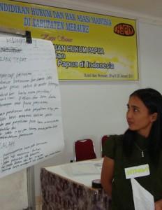 Creating civil awareness towards law and human rights