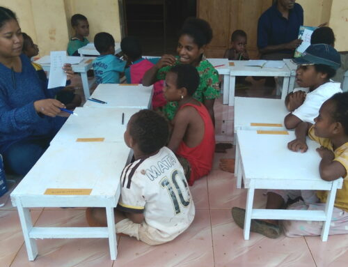 Daycare and lessons in Papua