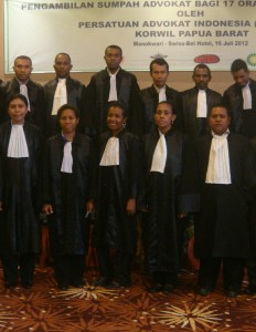 Lawyers in Papua