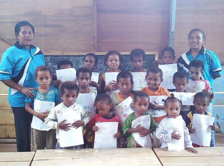 education papua kokoda