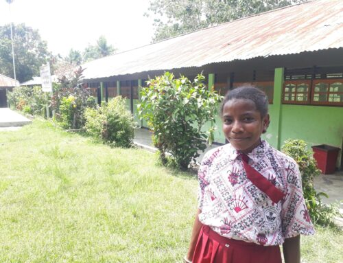Rossy and Margareth Inarkombu can go to school again